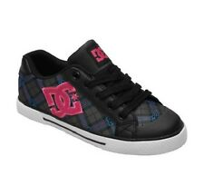 DC CHELSEA SE Womens Skate Shoes (NEW) Sizes 6-10 BLACK / CRAZY PINK / TURQUOISE