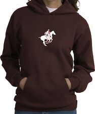 Show Jumping Shimmering Electric SJ Horse & Rider Hoodie Multiple Color & Sizes