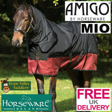 Horseware AMIGO MIO One Piece Combo  Heavy Turnout  Rug  heavyweight with neck