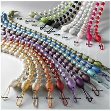 MODERN CRYSTAL BEADED CURTAIN ROPE TIE BACKS/ TIEBACKS DECORATIVE HOLDBACK