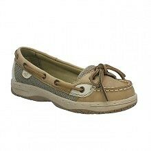 SPERRY BIG GIRLS ANGELFISH LINEN / OAT SHOES SIZE 12.5-6 YG36193A