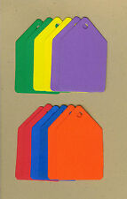 Your choice of colors on Pointed Gift Tags #1 Die Cuts - AccuCut
