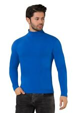MEN'S  ROLL NECK GOOD LONG-SLEEVE COTTON TOPS(GIFT)