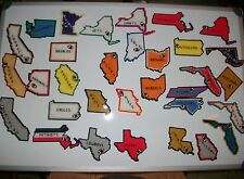 NFL State Magnets - Handmade