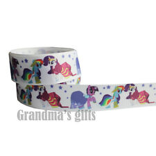 "7/8""22mm My Little Pony Printed grosgrain ribbon 5/50/100 yards hairbow Wholesal"