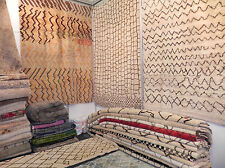 MOROCCAN BERBER RUGS Carpets Reproduced in Custom Size&Colors, 100%Wool Handmade