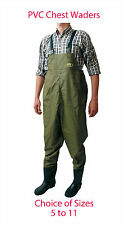Lineaeffe PVC Chest Waders In 7 Sizes