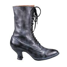 """Victorian style Granny Boot OakTree Farms new """"MARY"""" style ALL LEATHER"""