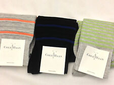 Cole Haan Multi Color Argyle Stripe Socks 3 To Chose From NWT One Size