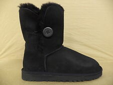 Women's Uggs Black Bailey Button Boots- 5803BLK