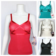 Marilyn Monroe NORMA JEAN Sexy WIDE Satin Strap Camisole MODAL 4 colors NWT $48