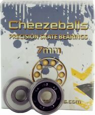 Cheezeballs Swiss Bearings 16 pack Roller Derby, Speed, Artistic Skating