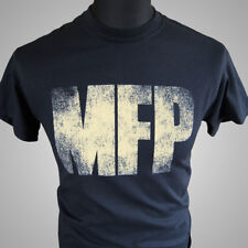Mad Max MFP Black Retro Movie T Shirt V8 Main Force Patrol