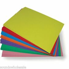 A4 COLOURED CARD ALL COLOURS - REAM'S OF 250 SHEETS 160 gsm  + FREE 24H DELIVERY
