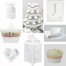 TALKING TABLES SOMETHING IN THE AIR WHITE WEDDING DECORATIONS 4 TIER CAKE STAND