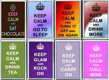 KEEP CALM fun FRIDGE MAGNETS Unusual gift New Large novelty magnets