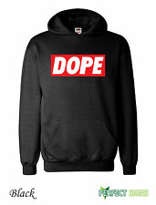 Dope  Mens  Micky Mouse Hands Mac Obey Hoodie S-2XL  - black III