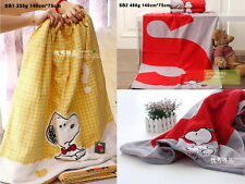 Kingshore SNOOPY BIG bath beach lovely towel various styles colors 100% cotton