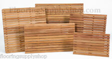 Bathroom Shower and anywhere Solid Teak Wood Mat Slip Resistant