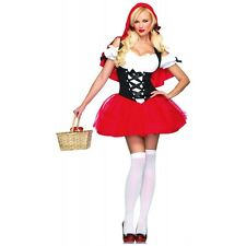 Little Red Riding Hood Costume Adult Sexy Halloween Fancy Dress