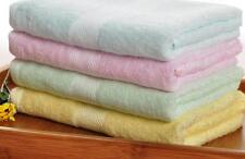95% Bamboo Fiber 5% Cotton ECO Friendly Hand Face Towels Soft 34x76cm Multicolor