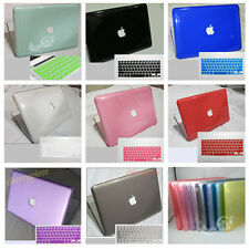 "8 colors For OLD Macbook white 13"" A1181 Crystal Hard Case laptop keyboard Cover"