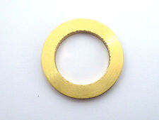 M16 16mm BORE THICK SOLID  BRASS WASHERS