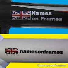 Custom Name Stickers Decals for your Helmet/Bike The BEST & ORIGINAL