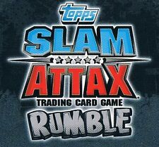 WWE Slam Attax TCG Rumble Choose One Champion Card from List