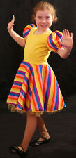 Kingdom of the Sweets RAINBOW Dress Perfect for Dance-Stage or Fancy Dress