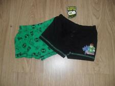 BRAND NEW BEN 10 ALIEN FORCE BLACK AND GREEN 2 PACK BOXER SHORTS BRIEFS PANTS