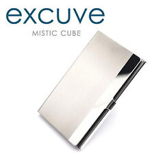 [excuve] Luxury TX1 Personalized Business Card Double-Sided Holder Case Engraved