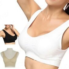 3 Colors for A Brand New Racerback Sports Bra Yoga Exercise Walk Wireless