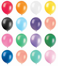 "PACK OF 72 SMALL 5"" BALLOONS BIRTHDAY PARTY CELEBRATION CHOOSE FROM MANY COLOURS"