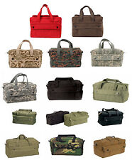 Mechanics Tool Bag Heavy Weight Military Cotton Canvas Tool Bag Utility Bag