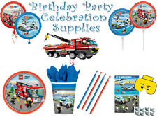 Lego City Birthday Party Supplies Theme All Items Available Brand New Gift