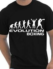 Evolution Of Boxing/Boxer  Adult/Mens T-Shirt  Size S-XXL