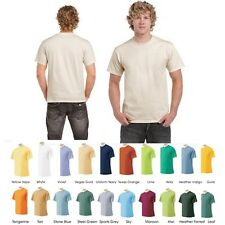 12 Pack: Men's Short-Sleeve 100% Cotton Crew-Neck Tees in 4 Sizes