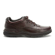 ROCKPORT WORLD TOUR CLASSIC BROWN TUMBLED MEN'S WALKING SHOE ALL SIZES NEW