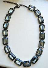 Authentic Joan Rivers Necklace - Large Gem Necklace - Joan Rivers Collection