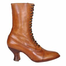 Victorian style Granny Boot OakTree Farms  MARY style ALL LEATHER sizes 6.5-8.5