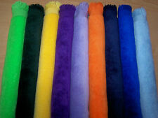 "11x18 fringed fingertip ""GOLF"" towel 18 colors to choose from 100% cotton"