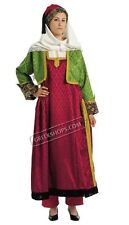 Traditional Greek North Aegean Islands Costume for Women, Size 1