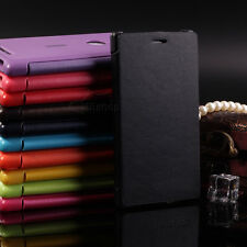Luxury Flip Leather PU Case Cover For Nokia Lumia All Carriers Mobile Cell Phone