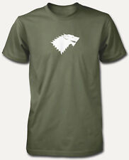 BNWT GAME OF THRONES HOUSE STARK WESTEROS  ADULT T SHIRT S-XXL PERSONALISED