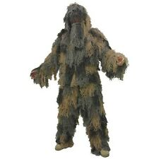 Sniper Ghillie Suit Adult Sizes Hunting Blind Gillie Halloween Costume 02-7738