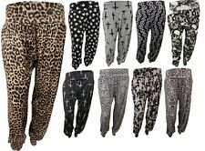 New Womens Plus Size Printed Alibaba Haremshose Baggy Pants