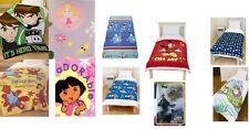 TV CHARACTERS / NOVELTY BOYS/ GIRLS CHILDRENS FLEECE BLANKETS / WRAP GREAT GIFTS
