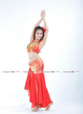 9 color Tank Top with Fishtail Tight Hip Long Skirt 2pcs set Belly Dance Costume