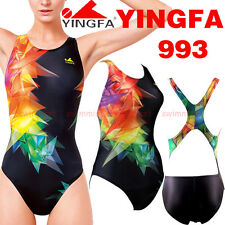 NWT YINGFA 993 TRAINING RACING COMPETITION SWIMSUIT US MISS 2,4,6,8,10,12 ALL Sz